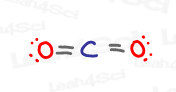 CO2 carbon dioxide lewis structure sp and sp2 hybridization
