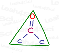 sp2 electronic and molecular geometry trigonal planar or flat triangle