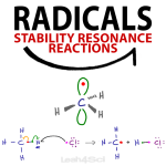 Free Radicals in Organic Chemistry - Hybridization, Stability, Resonance, Reactions and Mechanism Videos